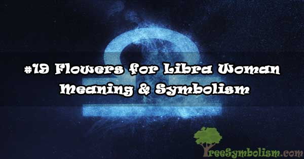 #19 Flowers for Libra Woman - Meaning & Symbolism